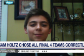12-year-old wins ESPN NCAA bracket challenge