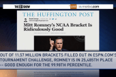 Romney beats Obama in NCAA picks