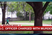 South Carolina officer charged with murder