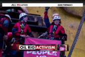 Greenpeace scales Shell rig to stop drilling
