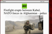 Afghan, NATO forces in firefight: report