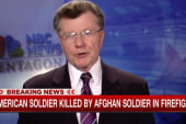 US soldier killed by Afghan soldier