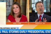 Rand Paul storms early presidential states