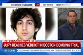 Jury reaches a verdict in Boston bombing...