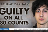 Jury finds Boston bomber guilty on all 30...