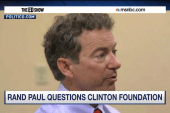 Rand Paul's plan to criticize Hillary Clinton