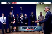 The 1st anniversary of 'My Brother's Keeper'