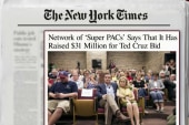 Cruz superPACs raise staggering sum