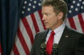 Rand Paul tackles foreign policy on the trail