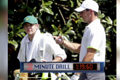 One Direction member caddies Masters