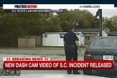 Dashcam footage details Walter Scott stop