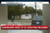 Dashboard video of SC shooting released