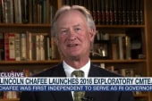 Lincoln Chafee may challenge Hillary in 2016