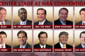 Two big Republicans not invited to NRA...