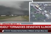 Deadly tornadoes devastate Illinois