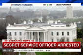 Secret Service officer placed under arrest