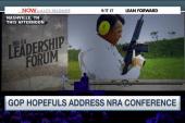GOP hopefuls address NRA conference