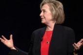 Clinton announcement expected via video