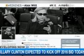 Clinton's campaign begins