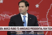 Community divided as Rubio enters race