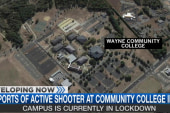 Report: Shots fired at North Carolina college