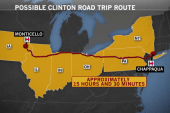 Hillary Clinton heads to Iowa