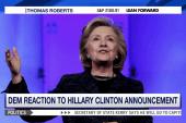 Howard Dean 'optimistic' about Clinton bid