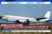 Russian, US military jets nearly collide