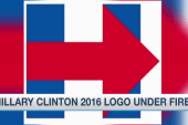 Hillary's campaign logo comes under fire