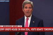 Kerry commits to selling Iran deal