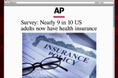 Nearly 9 in 10 Americans have health...