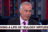 David Brooks on living a more virtuous life