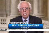 Bernie Sanders: What's Hillary campaigning...