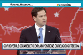 Rubio, Paul talk circles on gay rights