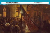 Lincoln assassination painting seldom seen