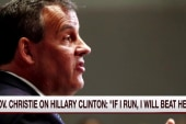 Christie: If I get in the race, I will...