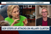 Hillary Clinton under attack