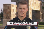 Police chief speaks out on cop ramming video