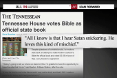 Tennessee nearly makes the Bible its state...