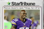 Adrian Peterson cleared to return to NFL