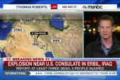 Explosion near US Consulate in Iraq
