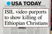 Report: ISIS video shows killings of...