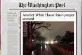 WH fence jumper arrested
