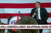 Poll: Christie's approval rating at a low