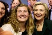 Hillary Clinton returns to New Hampshire