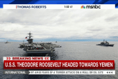 USS Theodore Roosevelt headed towards Yemen