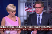 Any 'there there' with Clinton donations?