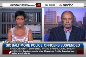 Six cops suspended for death of Freddie Gray