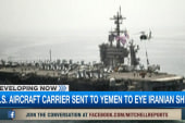 US ships, troops move toward Yemen's coast