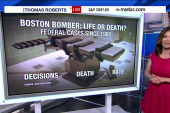 Life or death for Boston bomber?